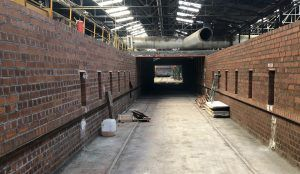 construccion secadero  300x174 - Cerámica estructural | Innovantia® construye un secadero de carga directa sobre vagón