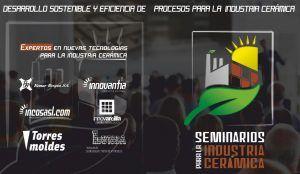 seminarios ceramica 300x174 - Desarrollo Sostenible y Eficiencia de Procesos para la Industria Cerámica